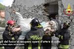 Terremoto Centro Italia: Il recupero delle opere d'arte ad Amatrice ed Arquata