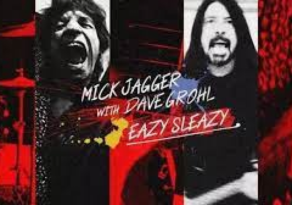 Mick Jagger, brano con Dave Grohl